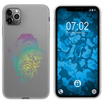 Apple iPhone 11 Pro Max Silicone Case floral M6-4