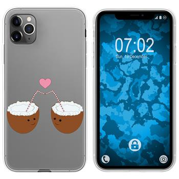 Apple iPhone 11 Pro Max Silicone Case summer M3