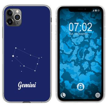 Apple iPhone 11 Pro Max Silicone Case Zodiac M12