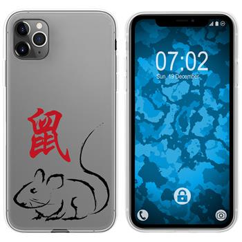 Apple iPhone 11 Pro Max Silicone Case Chinese Zodiac M1