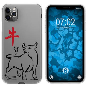Apple iPhone 11 Pro Silicone Case Chinese Zodiac M2