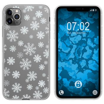 Apple iPhone 11 Pro Max Silicone Case Christmas X Mas M2