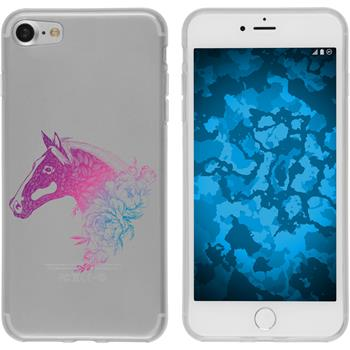 Apple iPhone 8 Silicone Case floral M5-6