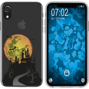 Apple iPhone Xr Silicone Case autumn M4