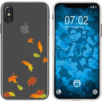 Apple iPhone Xs Max Silicone Case autumn M1