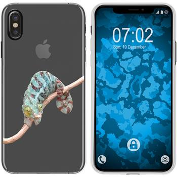 Apple iPhone Xs Max Silicone Case vector animals M7