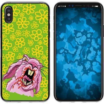 Apple iPhone X / XS Silicone Case Easter M5