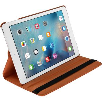 Artificial Leather Case for Apple iPad Mini 4 360° orange