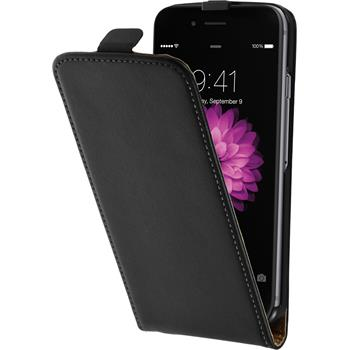 Artificial Leather Case for Apple iPhone 6 Flipcase black