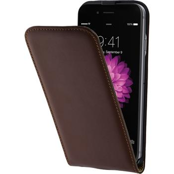 Artificial Leather Case for Apple iPhone 6 Flipcase brown