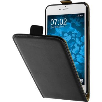 Artificial Leather Case for Apple iPhone 7 Plus Flip-Case black