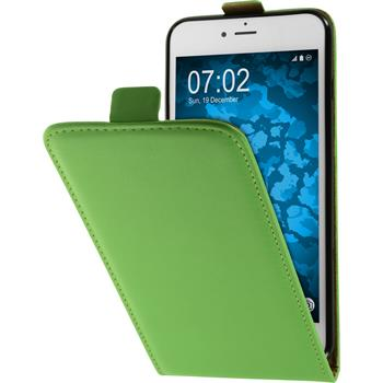 Artificial Leather Case for Apple iPhone 7 Plus Flip-Case green