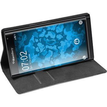 Artificial Leather Case for BlackBerry Priv Bookstyle white