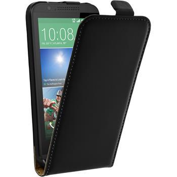 Artificial Leather Case for HTC Desire 510 Flipcase black