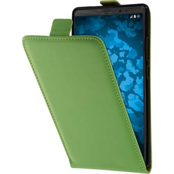Artificial Leather Case for Huawei Mate 8 Flip-Case green