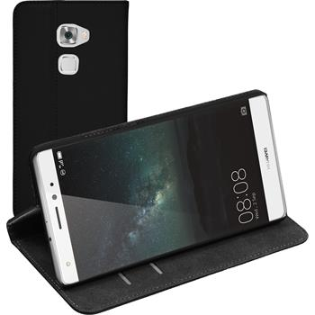 Artificial Leather Case for Huawei Mate S Bookstyle black