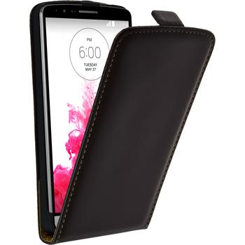 Artificial Leather Case for LG G3 Flipcase brown