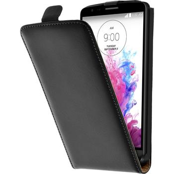 Artificial Leather Case for LG G3 Stylus Flipcase black