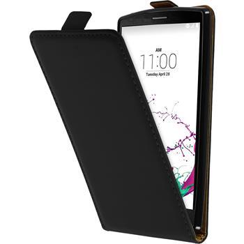 Artificial Leather Case for LG G4s Flip-Case black