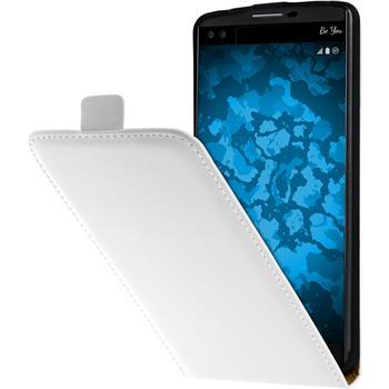 Artificial Leather Case for LG V10 Flip-Case white