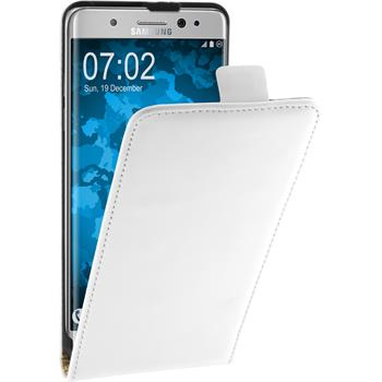 Artificial Leather Case for Samsung Galaxy Note 7 Flip-Case white