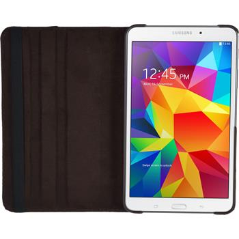 Artificial Leather Case for Samsung Galaxy Tab 4 7.0 360° brown