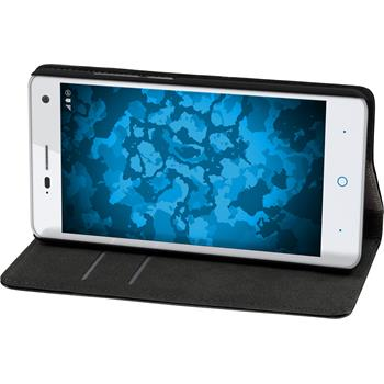 Artificial Leather Case for ZTE Blade L3 Bookstyle black