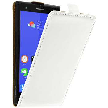 Artificial Leather Case for ZTE Star 2 Flip-Case white
