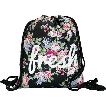cosey - Gym bag with allover print  - Fresh flowers
