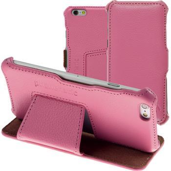 Echt-Lederhülle iPhone 6s / 6 Leder-Case rosa