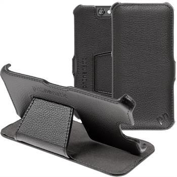 Echt-Lederhülle One A9 Leder-Case schwarz