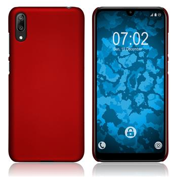 Hardcase Y7 Pro 2019 (Enjoy 9) rubberized red Cover