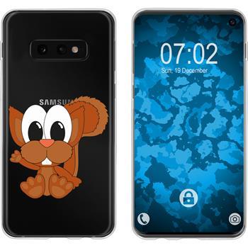 Samsung Galaxy S10e Silicone Case Cutiemals M8