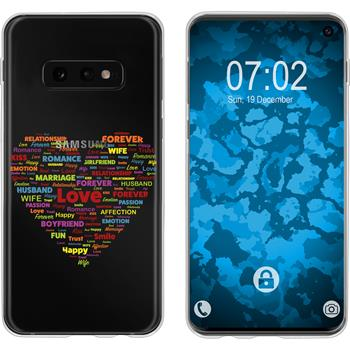 Samsung Galaxy S10e Silicone Case pride M5