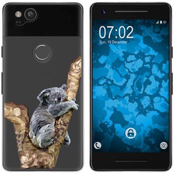 Google Pixel 2 Silicone Case vector animals M9