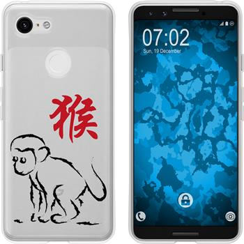 Google Pixel 3 Silicone Case Chinese Zodiac M9