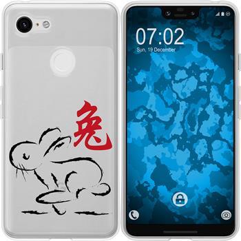 Google Pixel 3 XL Silicone Case Chinese Zodiac M4