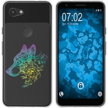 Google Pixel 3a XL Silicone Case floral M3-4