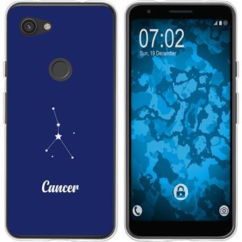 Google Pixel 3a XL Silicone Case Zodiac M3