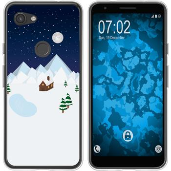 Google Pixel 3a Silicone Case Christmas X Mas M6