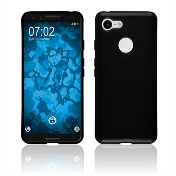Silicone Case Pixel 3  black Case
