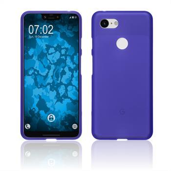 Silicone Case Pixel 3 XL matt purple Case
