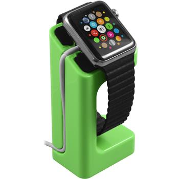 Halterung für Apple Watch Ladestation in grün