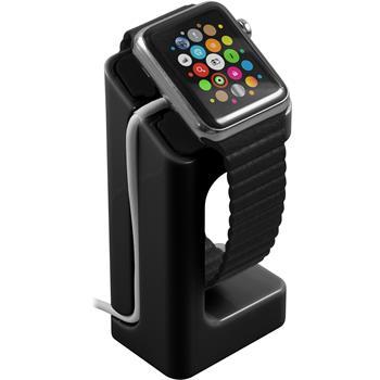 Halterung für Apple Watch Ladestation in schwarz