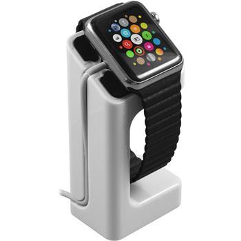 Halterung für Apple Watch Ladestation in weiß