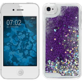 Hardcase for Apple iPhone 4S Stardust purple