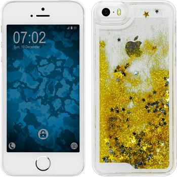 Hardcase for Apple iPhone 5 / 5s Stardust gold
