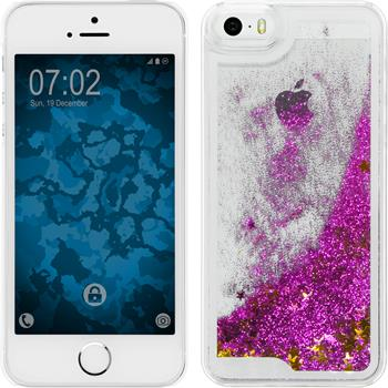 Hardcase for Apple iPhone 5 / 5s Stardust hot pink