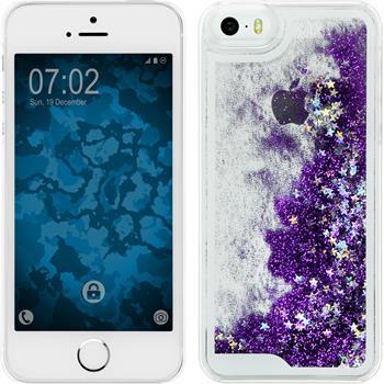 Hardcase for Apple iPhone 5 / 5s Stardust purple
