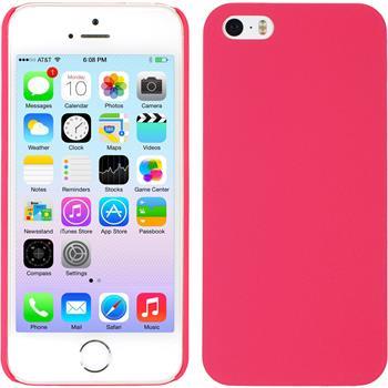 Hardcase for Apple iPhone 5 / 5s vintage hot pink